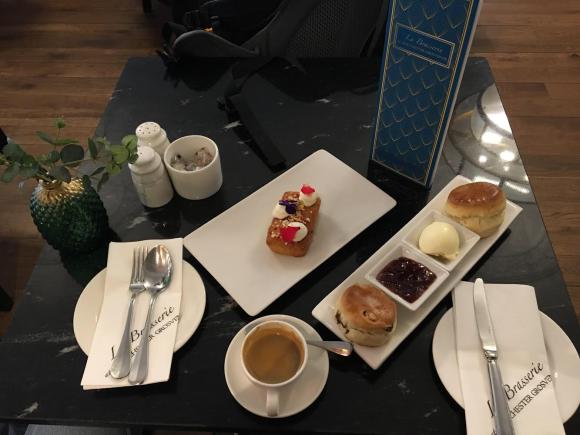 Afternoon tea La Brasserie Chester Grosvenor