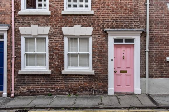 Chester Street Pink Door